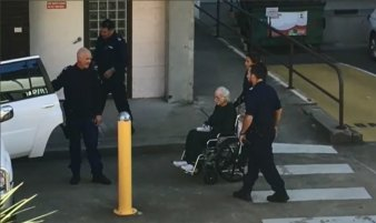 The last picture: Ivan Milat is moved from Prince of Wales Hospital to Long Bay prison, May 2019.