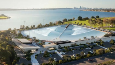 WA's government  made a last minute decision to deem the location of a Melville wave park 'inappropriate.'