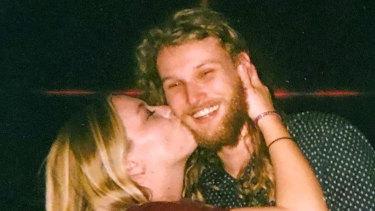 Australian Lucas Fowler and his American girlfriend Chynna Deese.