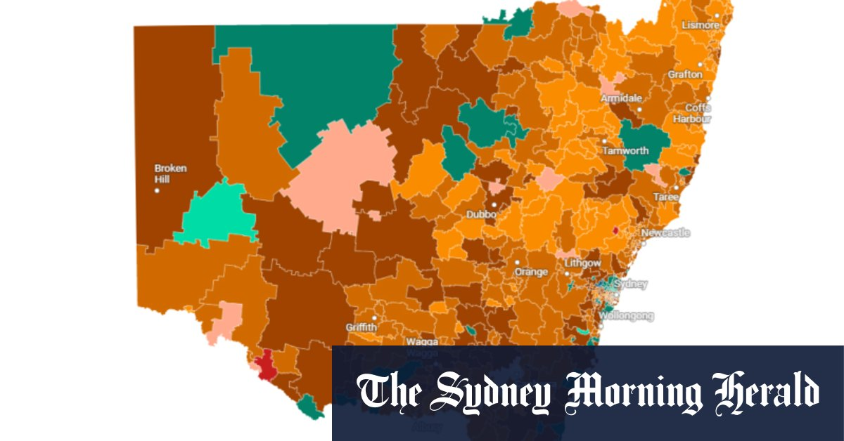 How your postcode is faring as NSW hits 50% double-dose vaccination rates