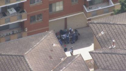 Boy, 4, taken to hospital after falling from unit window in Sydney