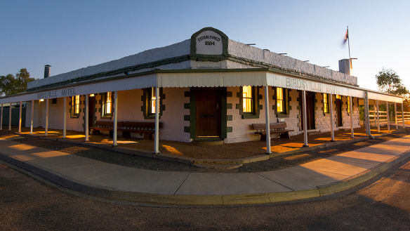'True Aussie icon': Birdsville Hotel listed for sale after 40 years