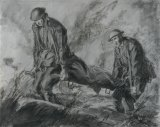 """""""Stretcher-Bearers"""", by Will Dyson."""