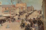 'Allegro Con Brio, Bourke Street West' was criticised for being a painting of just a dusty street.