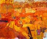 Brooding outback: Elisabeth Cummings' Arkaroola landscape (2004).