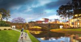 An artist's impression of the portals in the Lennox Bridge. Construction is due to be complete in April.