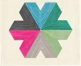 Frank Stella's <i>Star of Persia II</i> from the <i>Star of Persia</i> series  where the stripes and lines develop a hypnotic intensity.
