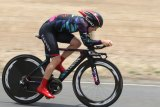 Speed to burn: Tiffany Cromwell on the fly at the Australian road championships.