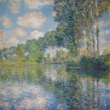 Claude Monet's Poplars on the River Epte.