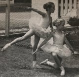 "Turner (left), aged five. Her childhood was consumed by ballet, she says: ""€œI was never allowed to play."""
