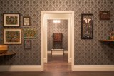 The Museum of Everything is displayed in a decaying faux mansion at MONA.