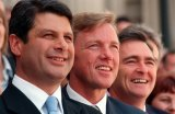 Then Victorian premier Steve Bracks, John Thwaites and John Brumby were a formidable team.