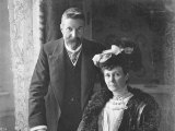 Alfred Deakin and his wife Pattie.