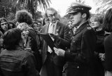 Confrontation, Gay Pride Week picnic, Botanical Gardens, Melbourne, 1973.