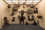 Brett has amassed items through years of collecting, including 21 untitled silhouettes and sculptures by Haiti's Georges Liautaud.