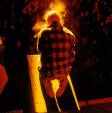 Midnight Oil frontman Peter Garrett.