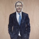 Camillo De Luca's Polymath portrait features federal Liberal MP Josh Frydenberg.