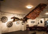 Get coffee and an art fix at MAD gallery and cafe.