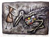 A Bird Goddess Mourns (2012).