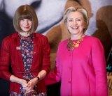 Anna Wintour and Hillary Clinton.