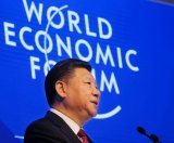 China's President Xi Jinping speaking up for globalisation at the World Economic Forum in Davos, Switzerland.