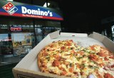 Domino's is proving a hot brand among pizza-eaters.