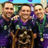 Melbourne Storm succession plan could see Cameron Smith play 400 NRL games