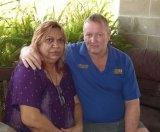 Zak Grieve's parents, Glenice and Wal Grieve.