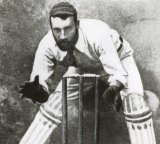 Jack Blackham kept wicket for longer than anyone.