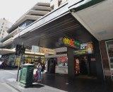 Club X sex shop and Crazy Horse cinema on Elizabeth Street.