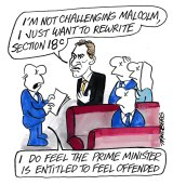 Cartoon by Ron Tandberg.