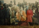 Deveson in Africa in the 1980s.
