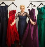 Susan Alberti is getting ready for her Signature Charity Ball. She will wear a ball gown for the first time in her life.