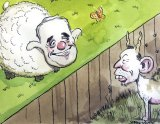 Separating the sheep from the goats. Illustration: John Shakespeare