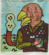Eko Nugroho's  <i>Kercerdasan bukan untuk mengelabuhi</i>, from the installation Lot Lost at the Art Gallery of NSW.