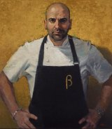 Betina Fauvel-Ogden has won the 2016 Packing Room Prize for her portrait of celebrity chef George Calombaris.