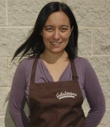 Anna Temellini says the best gelati is made with well-sourced ingredients.