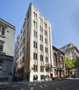 Retailers are happily moving into space above street level in Flinders Lane.