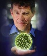Developer of the Gardasil vaccine, Professor Ian Frazer.