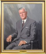 ACT Electricity Authority Chairman H A Jones. Jones was chairman from 1963-1975.