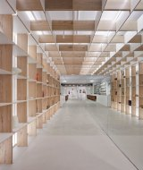 Karen Abernethy Architects fit-out for Craft Victoria.