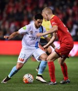 Melbourne City star Bruno Fornaroli had little impact on the game.