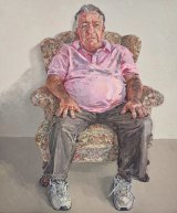 Lucy Culliton's portrait of former chief packer Steve Peters.