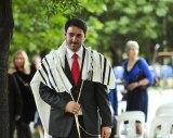 Rabbi Alon Meltzer at the National Jewish Memorial Centre.