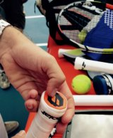 Rafael Nadal's high-tech racquet looks and feels like his old one - but it records his every move.