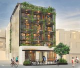 Brunswick's controversial Nightingale apartments, which received a planning permit on Tuesday.