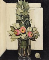 <i>Western Australian gum blossom</i>, 1928, by Margaret Rose Preston.