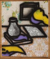 Howard Arkley, <i>Still Life</i>, 1986. Collection of John Nixon © The Estate of Howard Arkley.Courtesy Kalli Rolfe Contemporary Art.