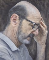 Kirsty Neilson's <i>There's no humour in darkness</i> is a portrait of actor and comedian Garry McDonald.