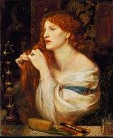 Aurelia (Fazio's Mistress) by Dante Gabriel Rossetti, modelled by Fanny Cornforth, The Tate Gallery.